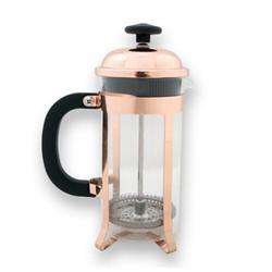 EPİNOX COFFEE TOOLS - FRENCH PRESS 350 ML LÜX KIRMIZI ALTIN (DÜZ-350B)